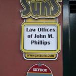 Law Offices of John M. Phillips Sponsoring the Jacksonville Suns