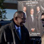 Jacksonville Lawyer Brent Latour with Client Ron Davis