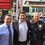 JSO Sheriff Mike Williams, Attorney John Phillips and Jacksonville Beach Police Chief Dooley