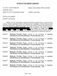 Howard Schneider Arrest Warrant Affidavit