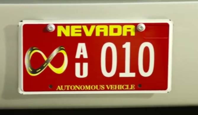 autonomous vehicle in nevada