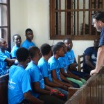 Peace Jam Ghana 2016: John Phillips Helping Students