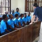 Peace Jam Ghana 2016: John Phillips Teaches Students