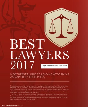 Jacksonville Magazine - Best Lawyers 2017
