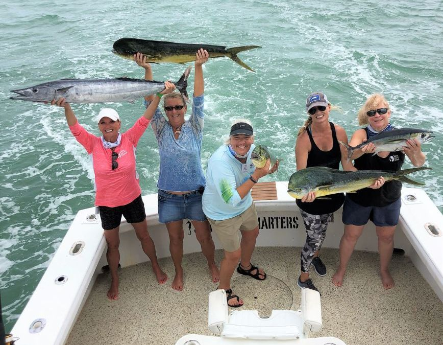 """New Anglers Become Winners at """"Ladies, Let's Go Fishing!"""" Keys University Oct. 23-25, 2020"""