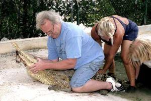 Crocodile Response Agent Wayne Carter
