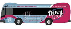 Duval Loop Bus
