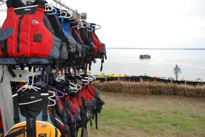 Hang to dry and know when to Replace your PFD