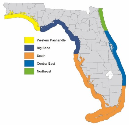 Spotted Seatrout Management Zones