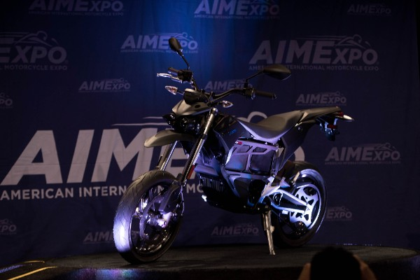 One of Zero Motorcycles's 2016 model reveals at AIMExpo 2015. Photo: J. Willie David III/Florida National News