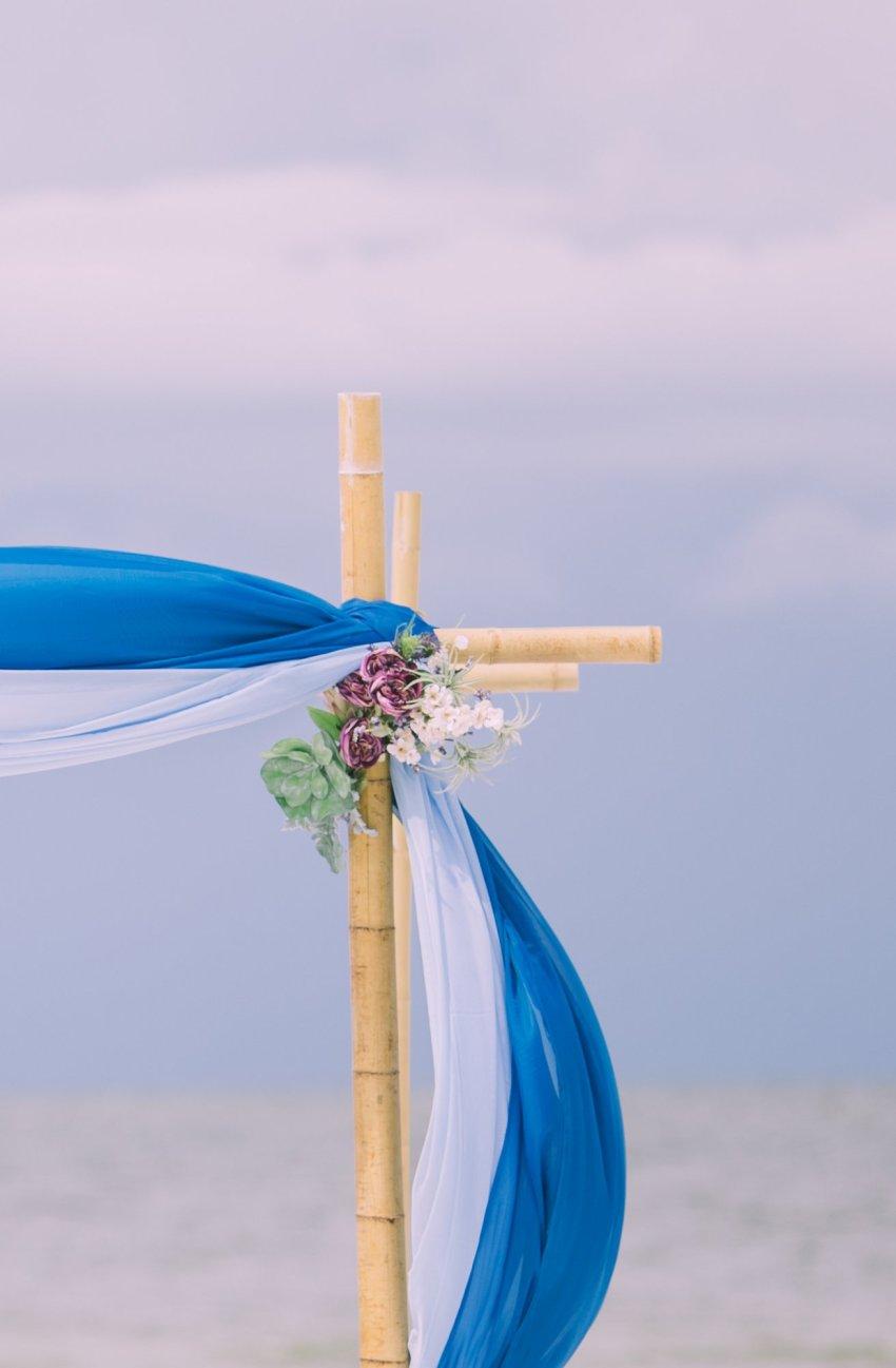 cheap-beach-wedding-fort-lauderdale-5 Deep Blue Wedding Arbor