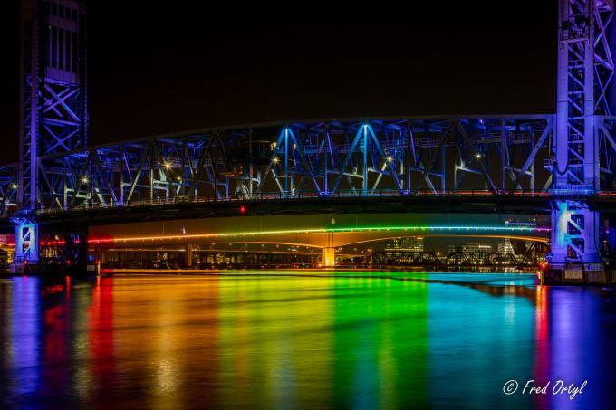 Rainbow Lighting Schemes For Florida Bridges Find Sudden State Support