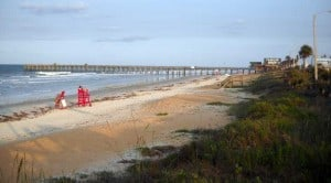 Flagler Beach and pier