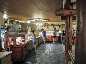 Trail's End Restaurant buffet