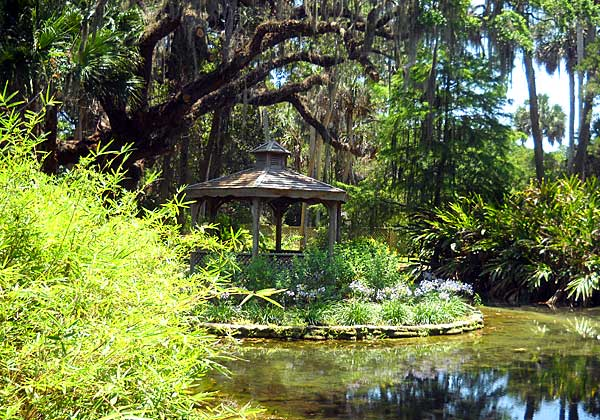 Gazebo in Washington Oaks Gardens State Park, Palm Coast