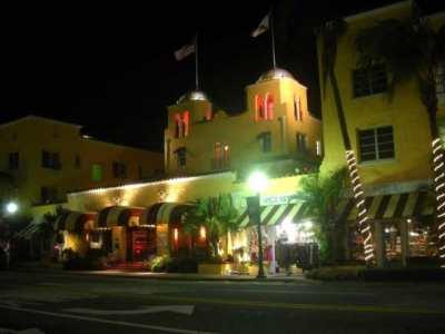 Colony Hotel on Delray Beach's Atlantic Avenue