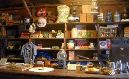 Interior of Smallwood Store at Chokoloskee