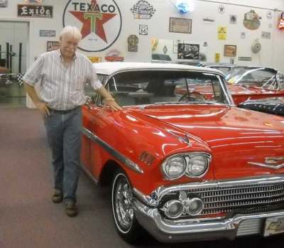 Rick Treworgy at his Punta Gorda Muscle Car City Museum