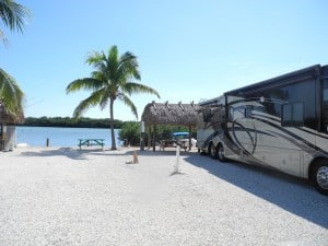Campsites at Geiger Key Marina and RV Park