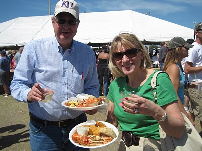 Visitors to Marathon Seafood Festival