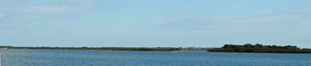View of Mosquito Lagoon from Goodrich's