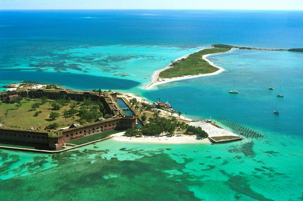 Getting Way Away To Dry Tortugas National Park Florida