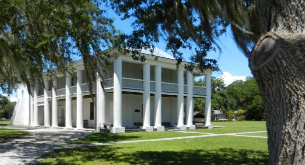Gamble Mansion in Ellenton, near Sarasota