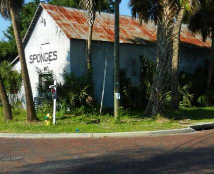 Historic sponge exchange building Tarpon Springs