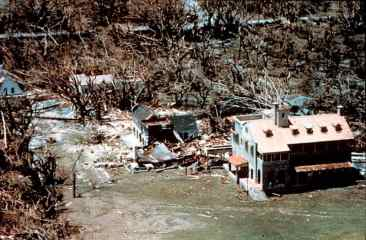 Deering Estate after Hurricane Andrew, Aug. 24, 1992