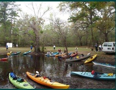 Paddle Florida group kayak trip