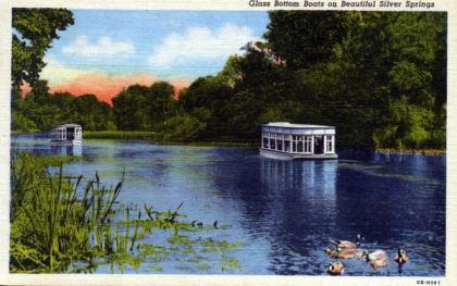 silver spring 1947 postcard