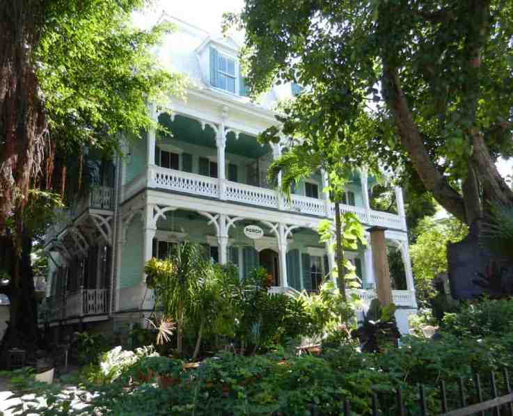 Captain George Carey Home in Key West