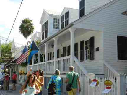Key West's Oldest House is a free attraction right on Duval Street. It's on the free walking tour.