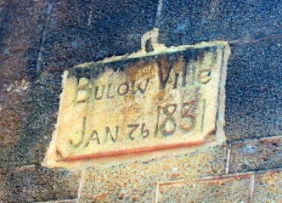 The settlement was abandoned only five years after this sign was carved at Bulow Plantation Ruins Historic State Park in Flagler County.