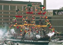 "The ""Jose Gasparilla"" pirate ship"