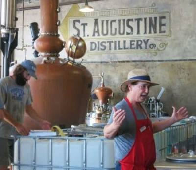 St. Augustine Distillery is located in a historic 190.7 former ice plant