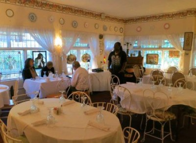 Cauley Square Tea Room in the Redland.