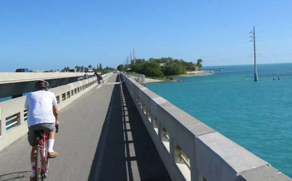 The Historic Long Key Bridge on the Florida Keys Overseas Heritage Trail.