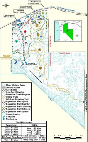 trail guide to the dupuis wildlife management area