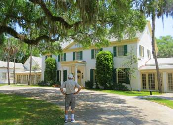 One of the eight state parks in the region preserves the 1928 Ribault Club, now a museum and special-event site. It was a resort for rich Northerners.