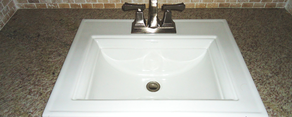 Overtime, Plaque Can Build Up On The Surface Of Your Sink. This Is Usually  An Issue If It Is Allowed To Be Built Up, But Regardless Of How Well You  Maintain ...