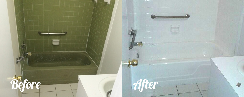 Bathroom Tile Refinishing | Florida Bathtub Refinishing