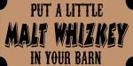 malt whizkey