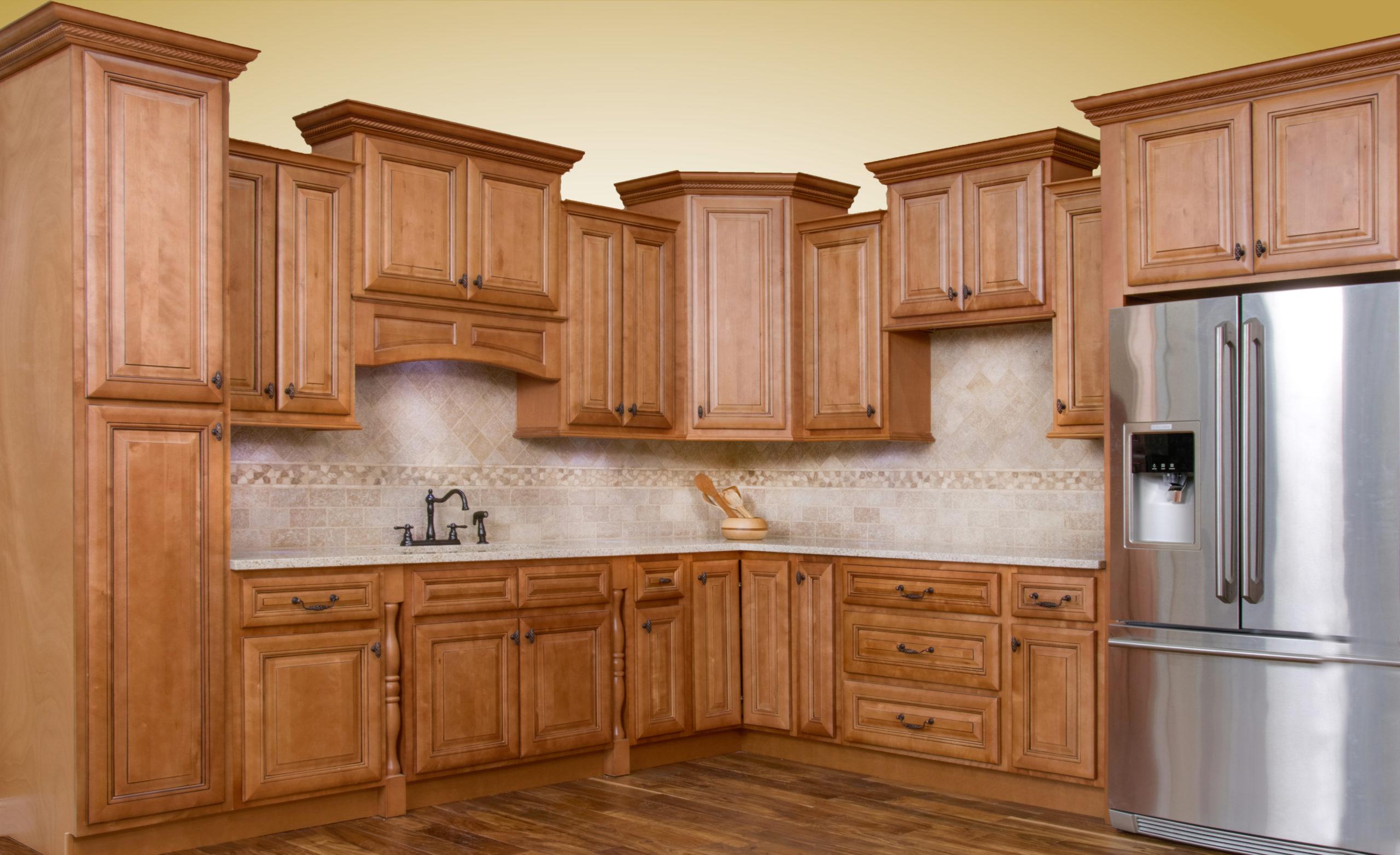 Savannah Sienna Glaze Cabinets - Choose Your Floors