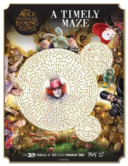 Alice-Through-The-Looking-Maze