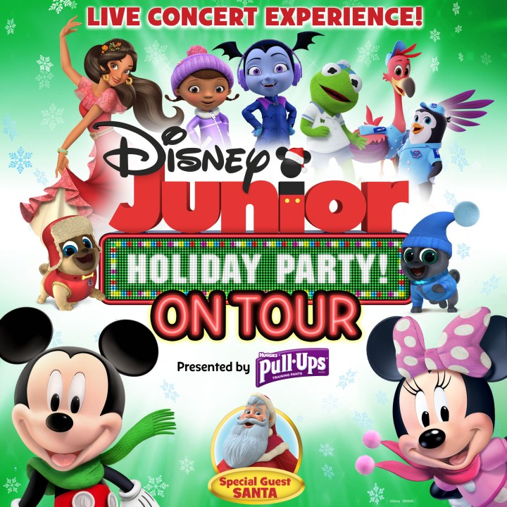 Disney Junior Holiday Party On Tour! – 4pm