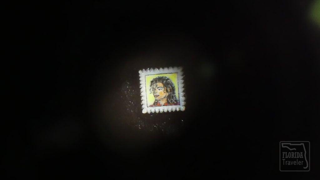 Michael Jackson Miniature Art
