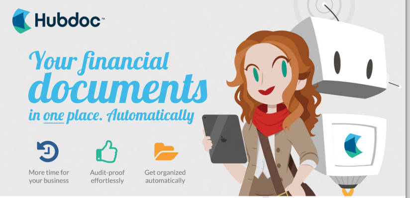 Your financial documents in one place. Automatically