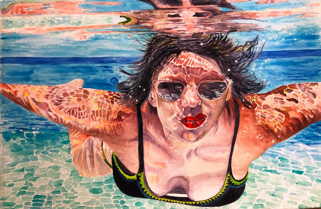 Jannine Le Mere - The Swimmer