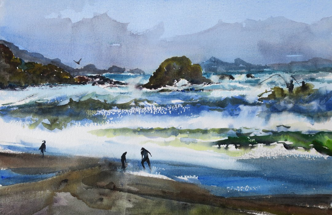 Val Wright - The Sea Rages